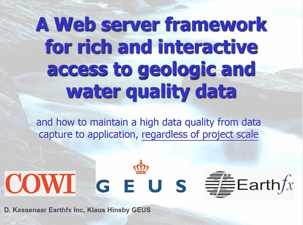 WebServer Framework