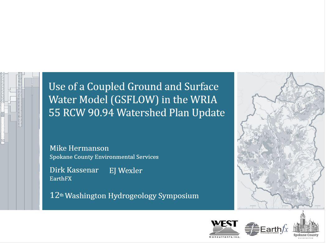 Hydrogeology Symposium
