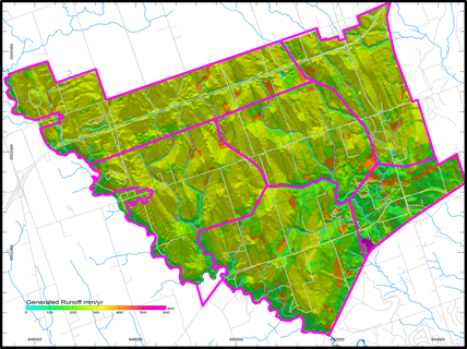 Assessment of Land Development and LID effects, Town of Seaton