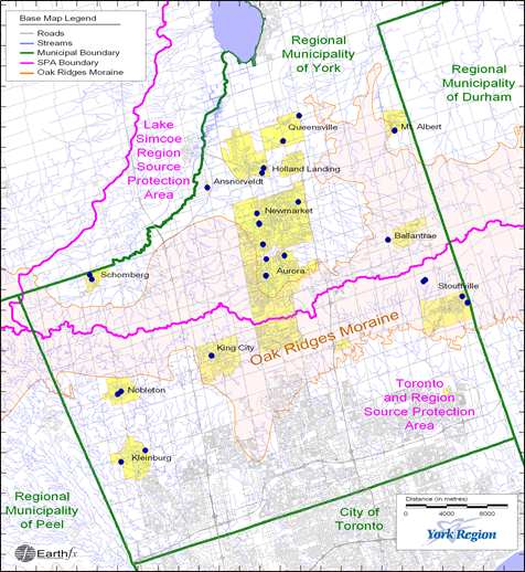 Tier 3 Water Budget and Water Quantity Risk Assessment, Regional Municipality of York, Ontario, Canada